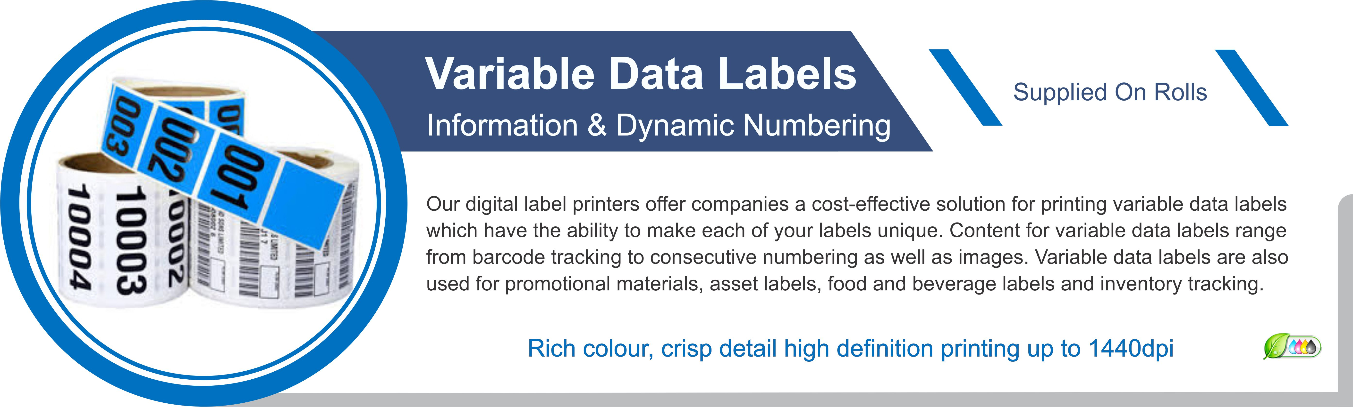 Variable Data Labels